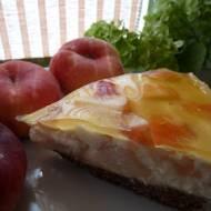 Lekki torcik brzoskwiniowo - jaglany