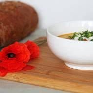 Prosta i sycąca zupa z cukinią i kurczakiem