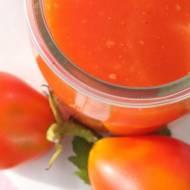 przetwory - przecier pomidorowy