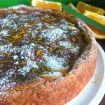 Ciasto ryżowo pomarańczowe