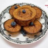 Amarantusowe muffiny bananowe