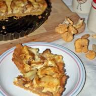 Bezglutenowa tarta z kurkami i serem pleśniowym