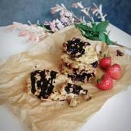 Ciastka owsiane z polewą czekoladową