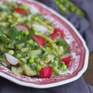Sałatka ziemniaczana z fasolką szparagową