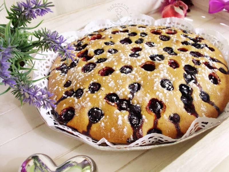Przepis Na Szybkie Ciasto Z Borowkami Bez Miksera Gotowanie