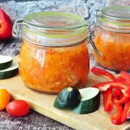 Sos z pomidorów,papryki i cukinii