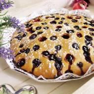 Szybkie Ciasto Z Borówkami ( Bez Miksera)