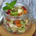 Sałatka owocowa z nasionami chia