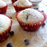 Muffiny z czarną porzeczką