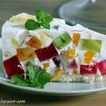 Ciasto Kryształ z owocami