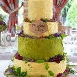 "tort weselny ""alpejska łąka"""