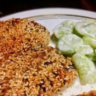 Kotlety z ryżem i pieczarkami