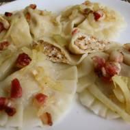 Pierogi z kaszą gryczaną i serem – przepis
