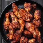 Pikantne skrzydełka barbecue
