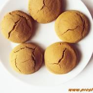 Ciastka z melasą z morwy i z cukrem kokosowym ( bez glutenu i masła )