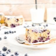 Najlepsze ciasto ucierane z borówkami