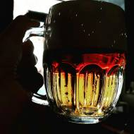 Piwo rżnięte, czyli řezané pivo pół na pół ciemne z jasnym