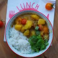 Dyniowe curry z pomidorami