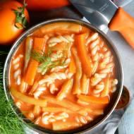 Pomidorowa z fasolą szparagową