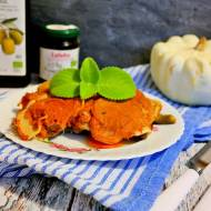 Schab z warzywami z piekarnika