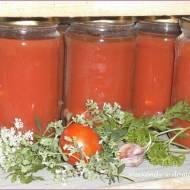 Sok pomidorowo-ziołowy do słoików