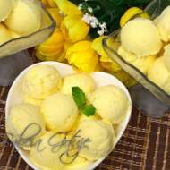 Domowe lody z mango   bez jajek   bez maszynki i mieszania