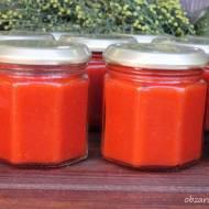 Ketchup z cukinii i pomidorów
