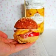 Mini burgery na pierwsze śniadanie