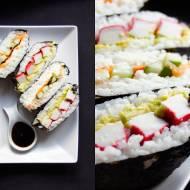 Sushi kanapka - onigirazu (3 składniki)