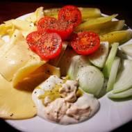 Kolacja warzywno-białkowa w 2 minuty