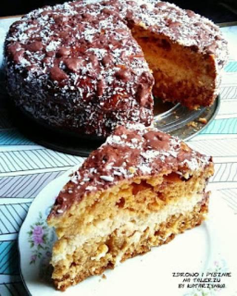 DOUBLE COCONUT CAKE (ciasto podwójnie kokosowe)