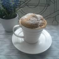 Babeczka cappucinno z mikrofalówki