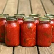 Hasło tygodnia - pomidorowe przetwory.