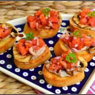 Mini-kanapeczki z bagietki
