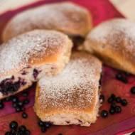 najlepsze wegańskie jagodzianki z mąki orkiszowej // the best vegan spelt blueberry buns - low sugar and low fat