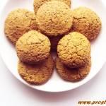 Ciastka z melasą z morwy i z wiórkami kokosowymi ( bez glutenu i masła )