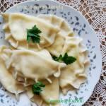 Pierogi z serem i miętą