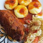 Rolady z mięsa mielonego - wołowego.