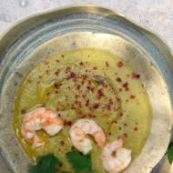 Zielone gazpacho z koprem