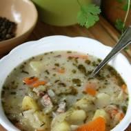 Zupa ogórkowa (z kiszonych i świeżych ogórków)