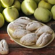 Kruche ciasteczka z jabłkiem