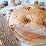 Z cyklu: Domowe pieczywo - Chleb z orzechami włoskimi (Pane alle noci)