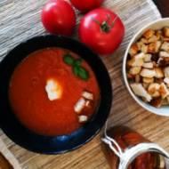 Zupa – krem z pieczonych pomidorów