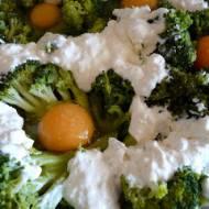 Brokułowe gniazdka