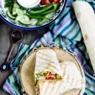 Domowy gyros w tortilli