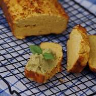 Wegański bezglutenowy chlebek kukurydziany