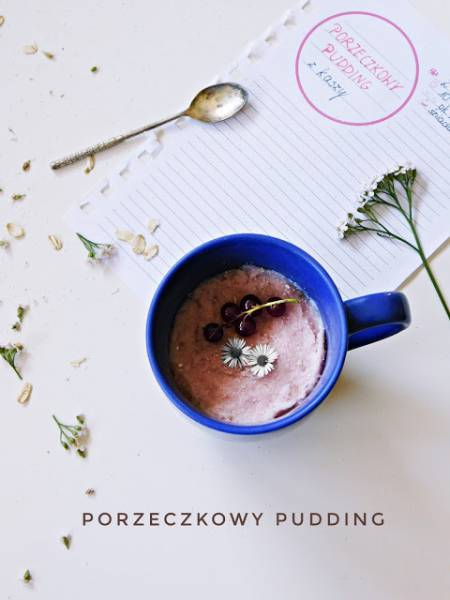 Pudding porzeczkowy z lodówki