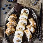 Piernikowe sweet sushi