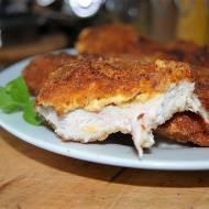 Cheeser – serowy kotlet z piersi kurczaka