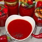 Przepis na ketchup bez cukru - pikantny